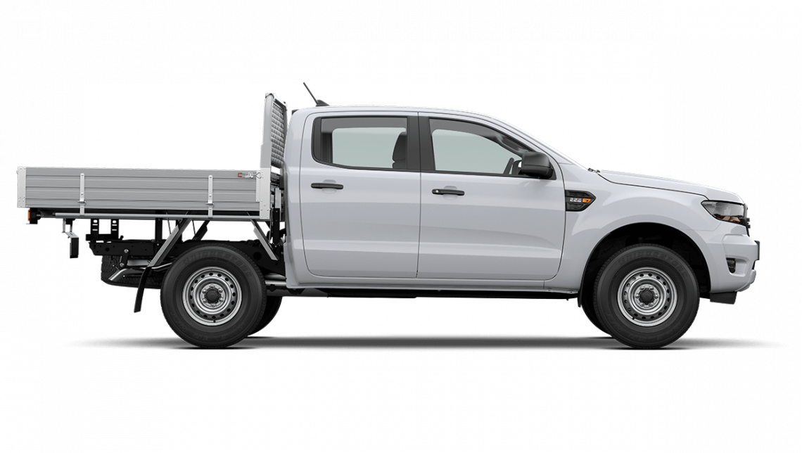 2020 MY20.75 Ford Ranger PX MkIII XL Double Cab Chassis Cab chassis Image 3