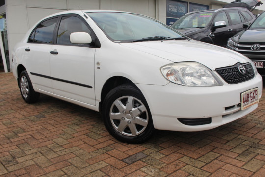 Toyota Corolla ASCENT ZZE122R MY03