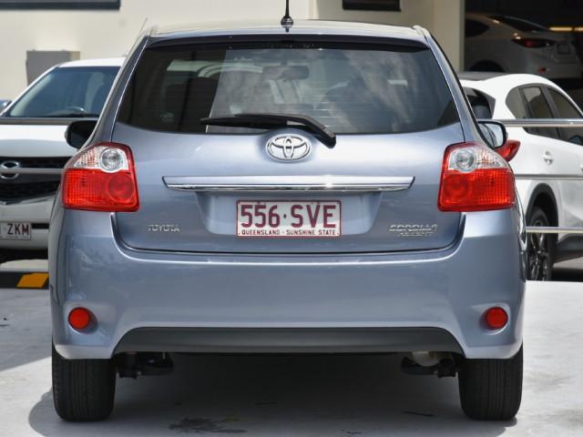 2012 MY11 Toyota Corolla ZRE152R  A Hatch