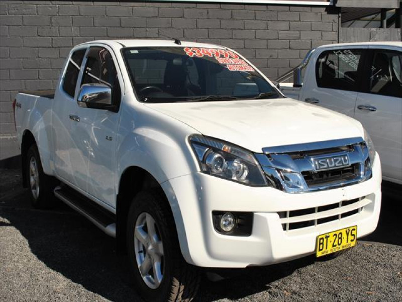 used 2012 isuzu ute d-max ls-u #13046 cooma, snowy mountains - high