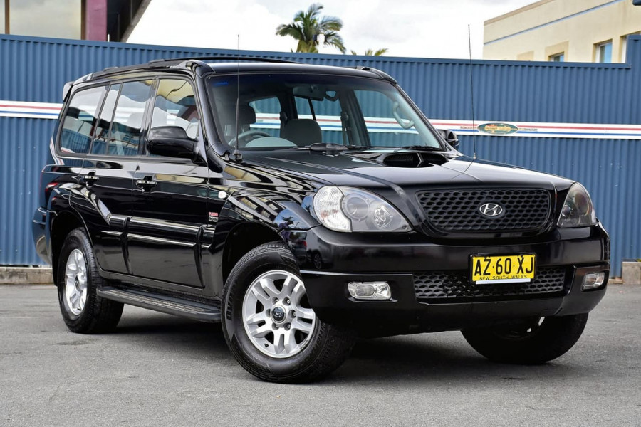 2006 Hyundai Terracan HP MY06 Wagon