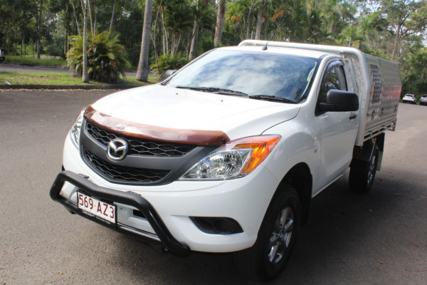 2012 Mazda BT-50 Cab chassis Image 4