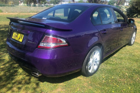 2010 Ford Xr6 FG XR6 Sedan