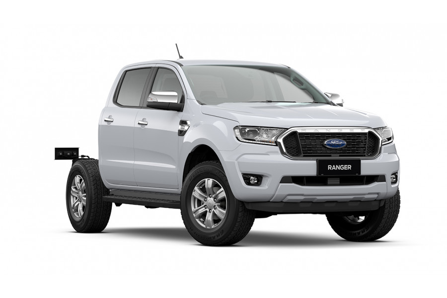2021 MY21.25 Ford Ranger PX MkIII XLT Double Cab Chassis Cab chassis