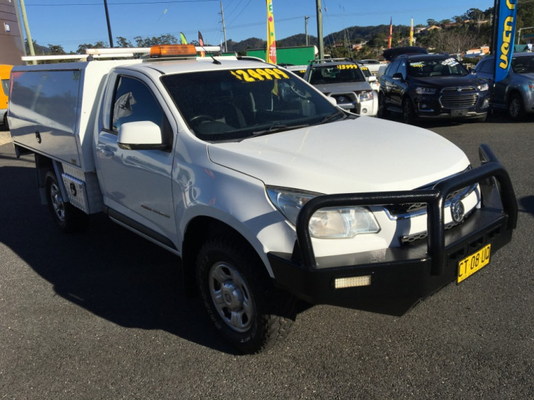 2015 Holden Colorado RG Turbo LS 4x4 s/c workbdy
