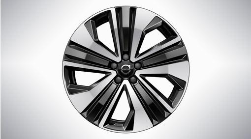 "19"" 5-Open Spoke Black Diamond Cut - 1100"