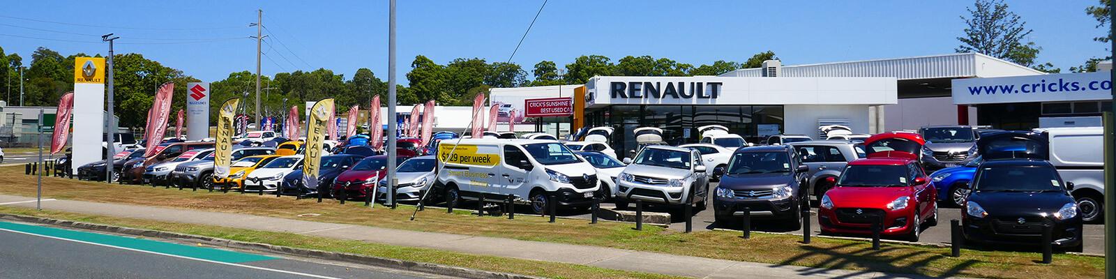 Cricks Maroochydore Renault