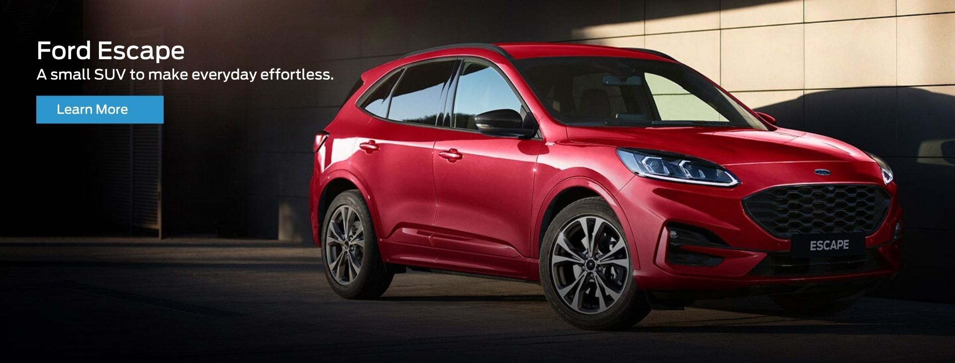 A small SUV to make everyday effortless.