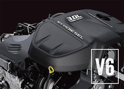 1500 Laramie V6 EcoDiesel Best In-Class Torque