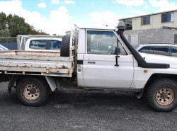 1998 Toyota Landcruiser HZJ75RP Cab chassis - single cab