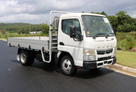 Fuso Canter 515 CITY CAB Tradesman Tray FREE SERVICING AND SAFETY PACK + INSTANT ASSET WRITE OFF 515 AUTO TRADIE TRAY