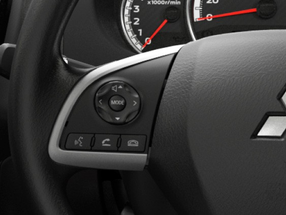 Steering Wheel Phone & Audio Controls Image