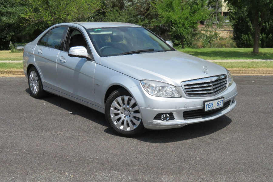 2008 Mercedes-Benz C200 Kompressor W204 Elegance Sedan