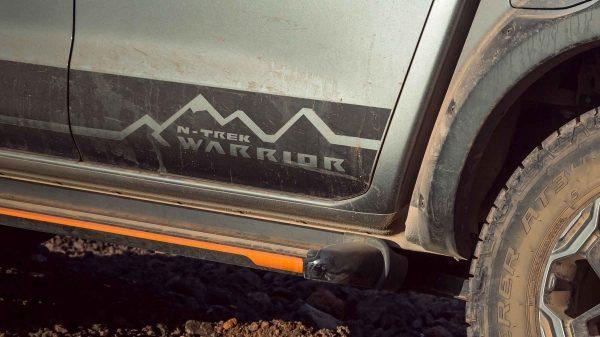 N-TREK Warrior Decal Image