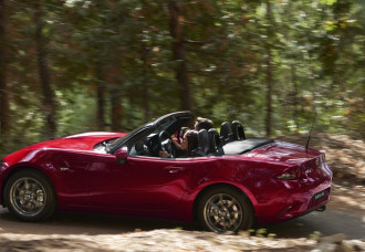 MAZDA MX-5 NAMED BEST CONVERTIBLE IN DRIVE.COM.AU CAR OF THE YEAR AWARDS