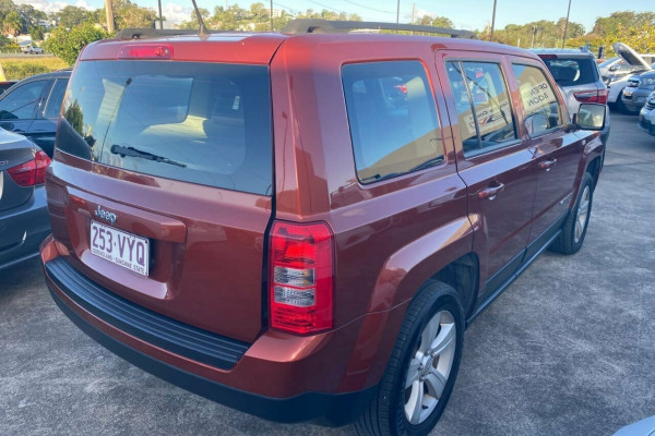 2012 Jeep Patriot MK MY12 Sport (4x2) Wagon