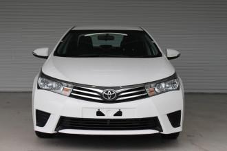 2016 Toyota Corolla ZRE172R ASCENT Sedan