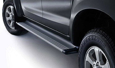 Alloy Flat Side Steps