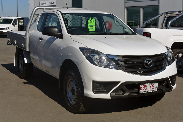 2018 MY19 Mazda BT-50 UR 4x2 3.2L Freestyle Cab Chassis XT Freestyle cab chassis
