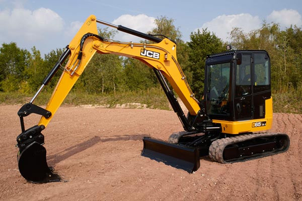 2021 JCB 65R-1 Excavator (No Series) 65R-1 Excavator Image 2