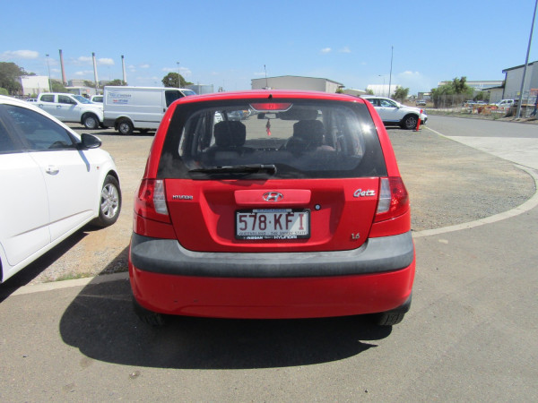 2007 Hyundai Getz TB MY07 SX Hatchback