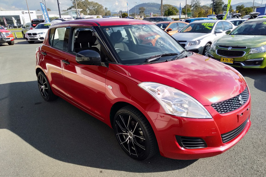 2012 Suzuki Swift FZ GA Hatchback