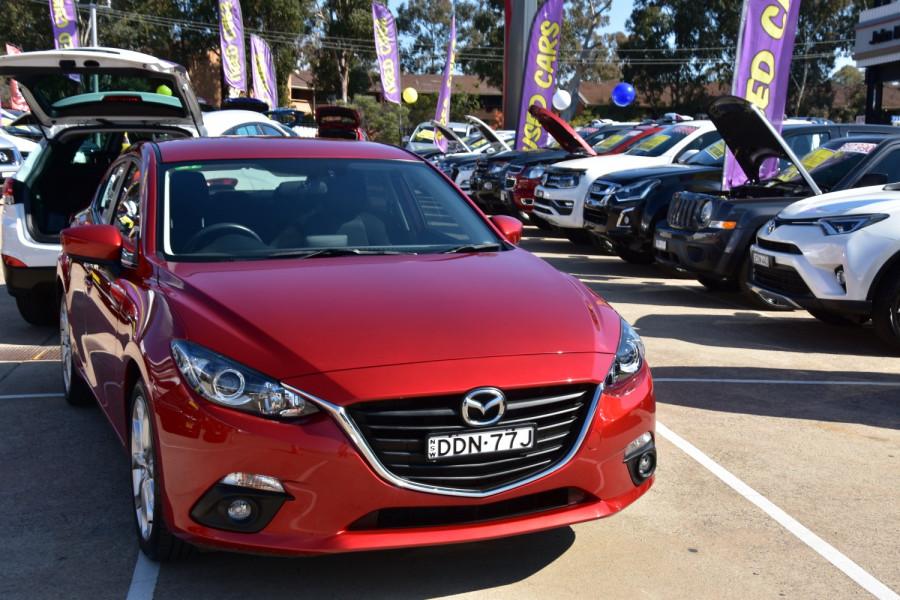 2016 Mazda 3 BM Series SP25 Sedan Sedan Image 15