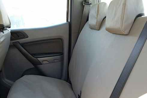 Seat Covers Canvas - Front and Rear