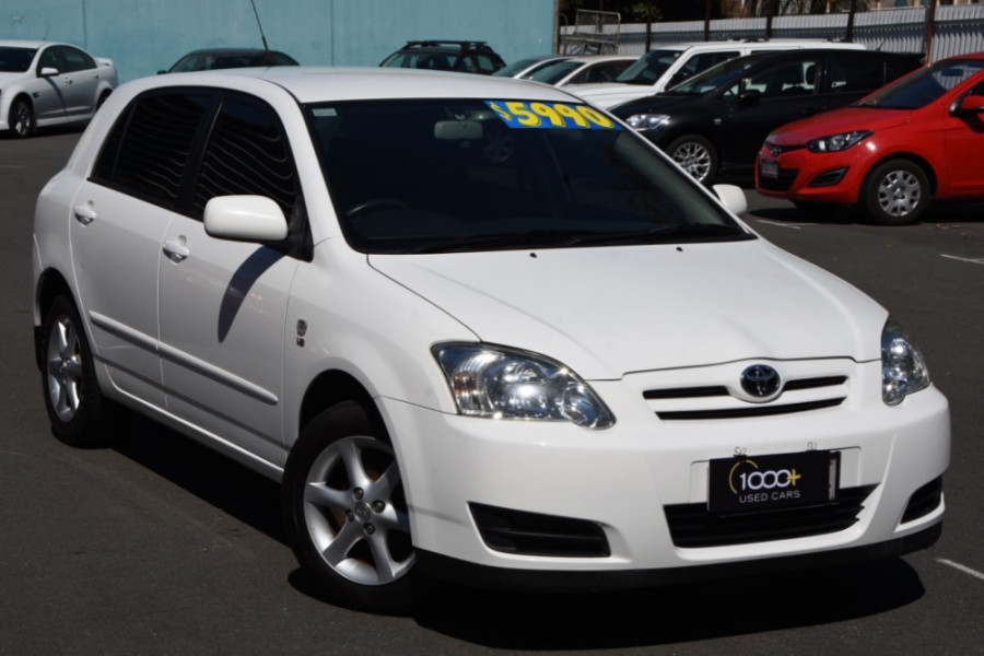 2004 Toyota Corolla ZZE122R Spec 03 Conquest Hatchback