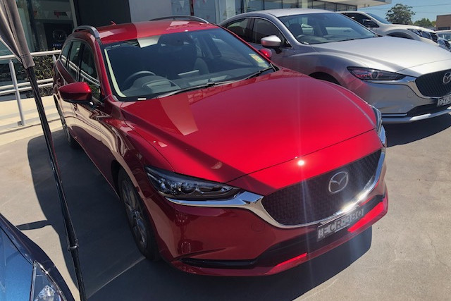 2019 Mazda 6 GL Series Sport Wagon Wagon