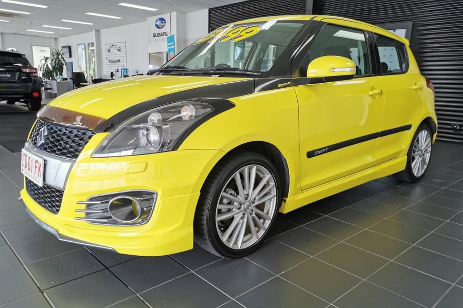 2013 Suzuki Swift FZ Sport Hatchback