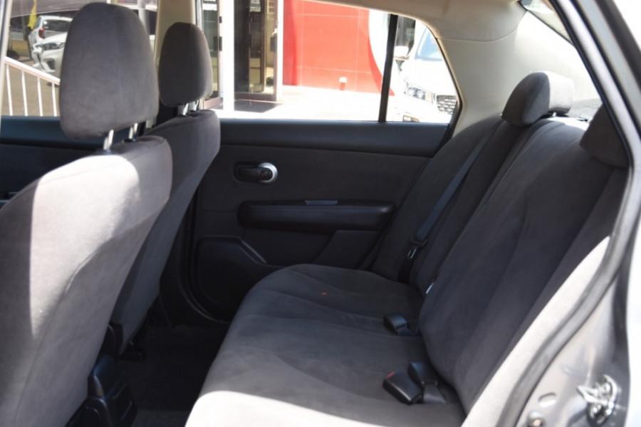 2009 MY07 Nissan Tiida C11 MY07 ST-L Sedan