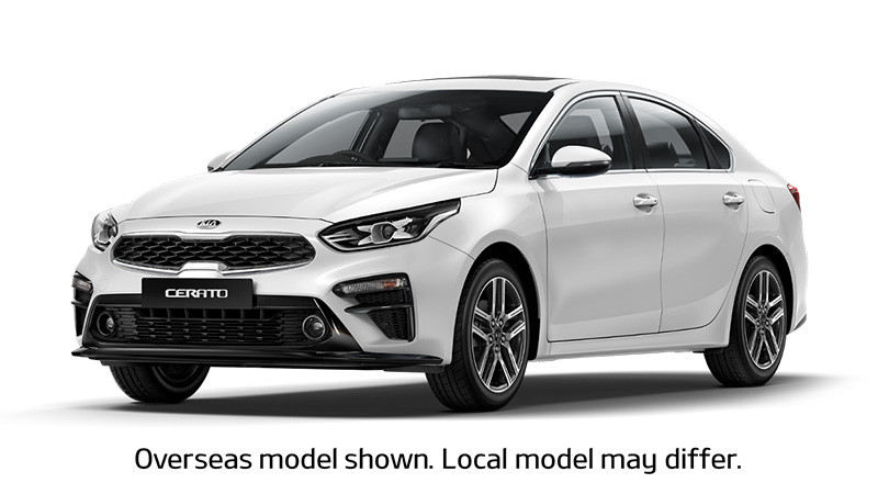 2018 MY19 Kia Cerato Sedan BD S Sedan
