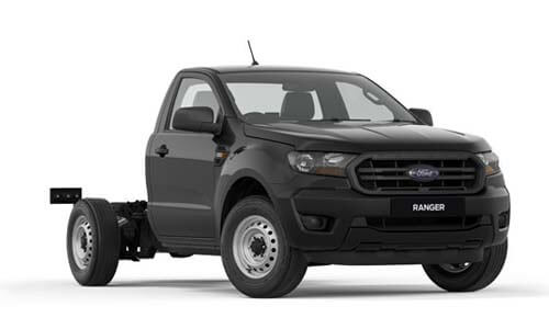2018 MY19 Ford Ranger PX MkIII 4x2 XL Single Cab Chassis Low-Rider Utility