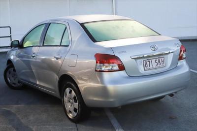 2012 Toyota Yaris NCP93R MY11 YRS Sedan Image 3