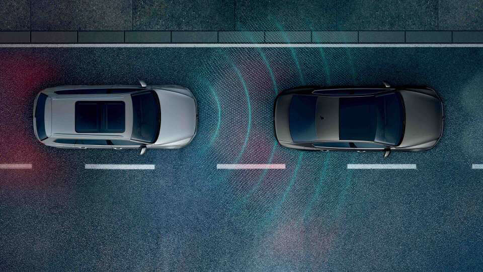 Front Assist with City Emergency Braking and Pedestrian Monitoring Image