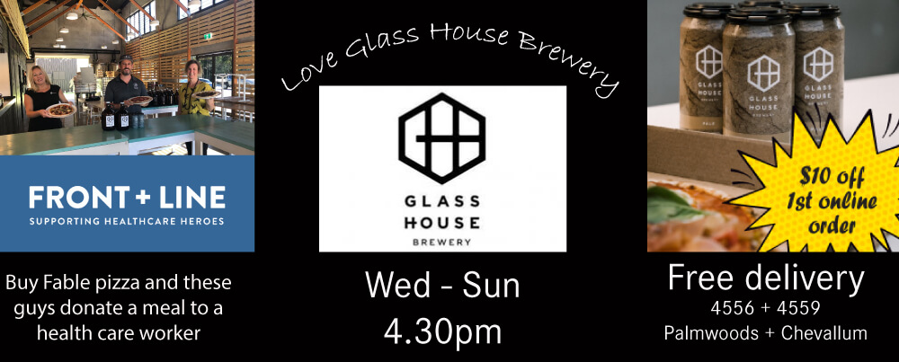 Glass House Brewery – Supporting Frontline Healthcare Workers