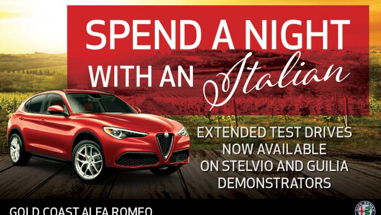 Alfa Romeo Extended Test Drives