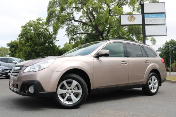 Subaru Outback 2.0D B5A MY13