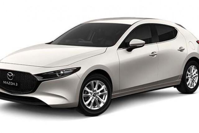 2020 Mazda 3 BP G20 Pure Hatch Hatch
