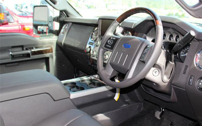 F-Truck 250 Platinum Interior Features