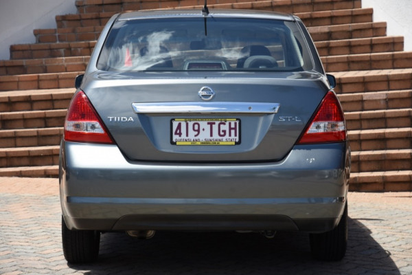 2009 MY07 Nissan Tiida C11 MY07 ST-L Sedan Image 4