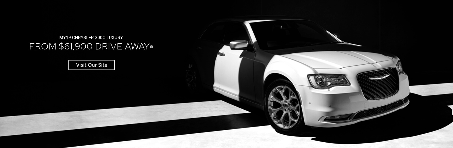 MY19 Chrysler 300C Luxury from $61.900 Drive Away