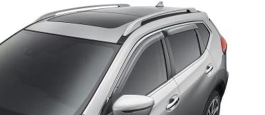 Weathershields (slimline, front & rear)