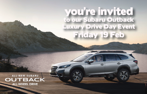 You're invited to our Luxury Drive Day event