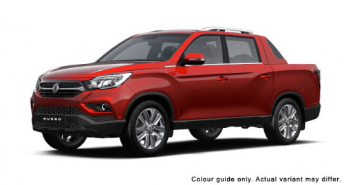 2020 SsangYong Musso XLV Ultimate Crew cab