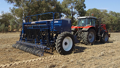 New Agrowplow Agrowdrill AD730 Seed Drill