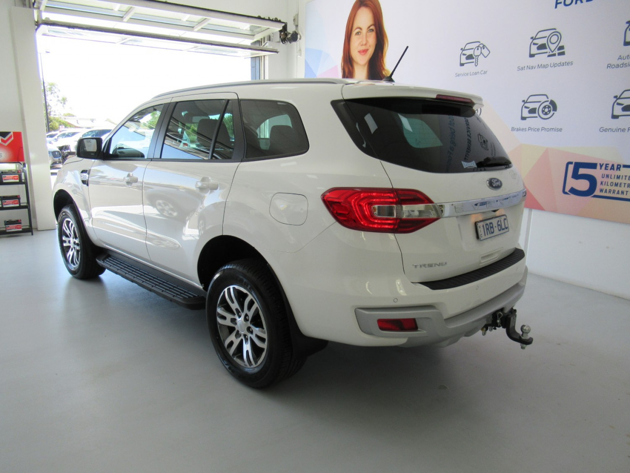 2020 MY20.25 Ford Everest UA II Trend 4WD Suv Image 10