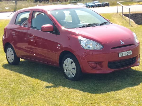 2014 MY15 Mitsubishi Mirage LA ES Hatch