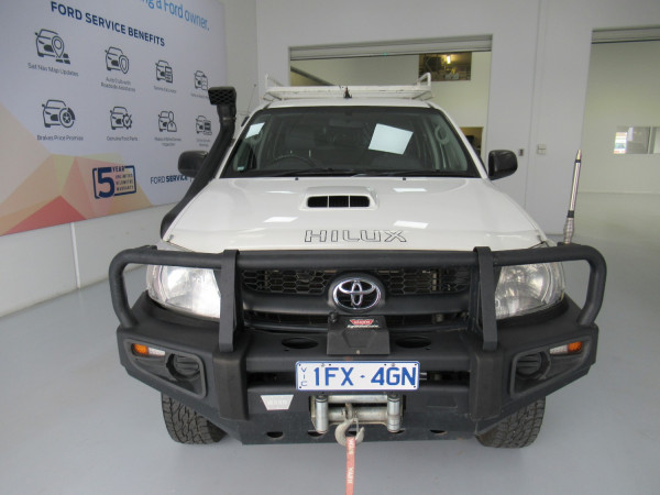 2011 MY10 Toyota HiLux KUN26R MY10 SR Cab chassis